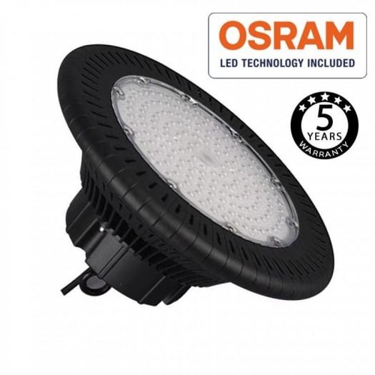 [Ibérica de Iluminación]Campana Industrial LED UFO 150W OSRAM Chip 3030-2D 160lm/w IP65