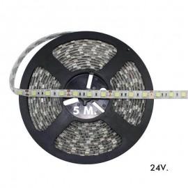 [Ibérica de Iluminación]Tira LED Flexible Exterior 14.4W*5m  IP65 24V
