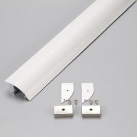 [Ibérica de Iluminación]Perfil de Aluminio Modelo CORNISA- 2 Metros