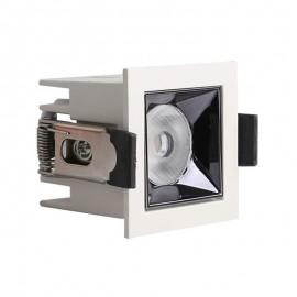 [Ibérica de Iluminación]Empotrable LED 5W OSRAM Chip PALACE 24º UGR17 140lm/W