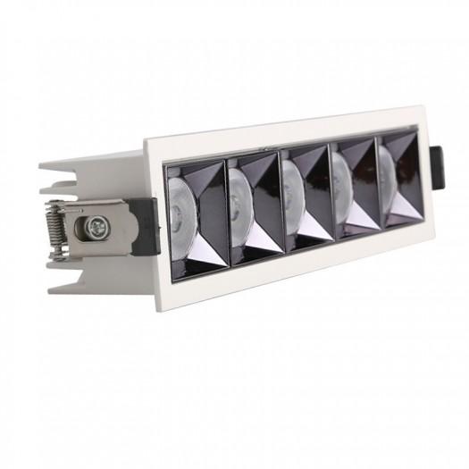 [Ibérica de Iluminación]Empotrable LED 25W OSRAM Chip PALACE 24º UGR17 140lm/W