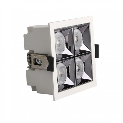 [Ibérica de Iluminación]Empotrable LED 20W OSRAM Chip PALACE 24º UGR17 140lm/W