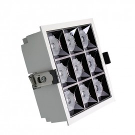 [Ibérica de Iluminación]Empotrable LED 40W  OSRAM Chip  PALACE  24º UGR17 140lm/W