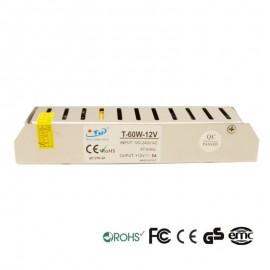 [Ibérica de Iluminación]Fuente Alimentación 24V 60W - Aluminio IP20