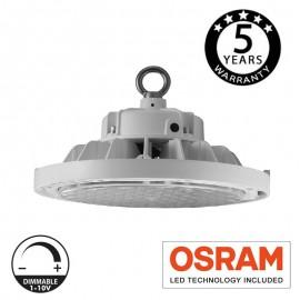 [Ibérica de Iluminación]Campana industrial LED 200W UFO UGR17 OSRAM Chip Dimable 1-10V
