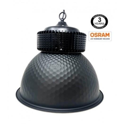 [Ibérica de Iluminación]Campana  industrial LED PRO Black  100W chip OSRAM  SMD 3030 -2D