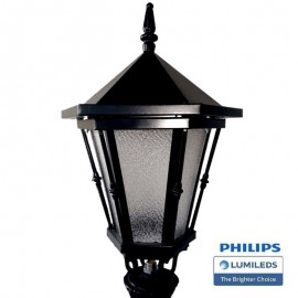 [Ibérica de Iluminación]Farola Romanico Aluminio LED 40W LUMILEDS