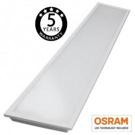 [Ibérica de Iluminación]Panel LED 120x30 cm 50W OSRAM Chip - 140lm/W