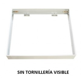 [Ibérica de Iluminación]Kit de superficie de Panel  60x60 blanco