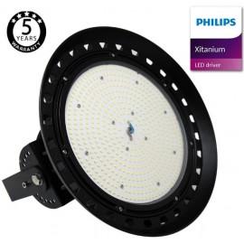 [Ibérica de Iluminación]Campana LED 100W XITANIUM Driver Philips UFO IP65