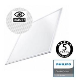 [Ibérica de Iluminación]Panel LED 60x60 44W CERTA Driver Philips UGR17 - No Flicker - 5 años Garantia