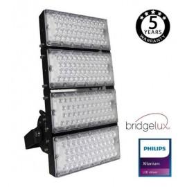 [Ibérica de Iluminación]Foco Proyector LED 480W PHILIPS Xitanium STADIUM MATRIX Bridgelux Chip 20º - Driver Philips