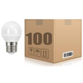 [Ibérica de Iluminacion] PACK 100 UD E27 6W G45