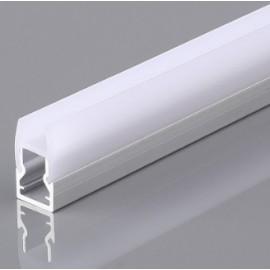 [Ibérica de Iluminación]Perfil Aluminio para Tiras LED - GLASS- para Cristales 2m.