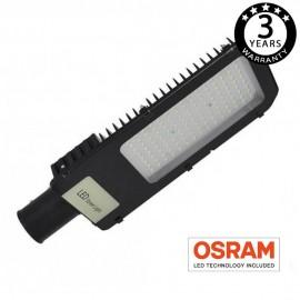[Ibérica de Iluminación]Farola LED NIZA SMD 2835 100W OSRAM Chip 70º x 140º