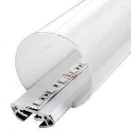 [Ibérica de Iluminación]Perfil de Aluminio Modelo TUBE - 2 Metros