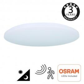 [Ibérica de Iluminación]Plafón LED Superficie 18W - 4000K - SENSOR RADAR