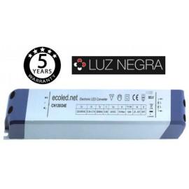 [Ibérica de Iluminación]Fuente Alimentación PROFESIONAL 24V 120W - ECOLED - IP20 - TÜV
