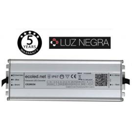 [Ibérica de Iluminación]Fuente Alimentación PROFESIONAL 24V 200W - ECOLED - IP67 - TÜV