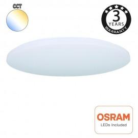 [Ibérica de Iluminación]Plafón LED Superficie 18W OSRAM Chip - CCT - COLOR SELECCIONABLE
