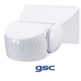 [Ibérica de Iluminación] Detector Movimiento de Superficie Orientable AC220-240V 180º/360ª
