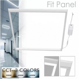 [Ibérica de Iluminación]FIT Panel LED 60x60 44W Marco Luminoso Blanco - CCT