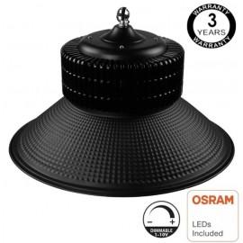 [Ibérica de Iluminación]Campana Industrial LED 100W DIMABLE 1-10V - PRO Black chip OSRAM