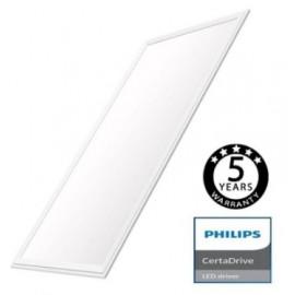 [Ibérica de Iluminación]Panel LED 120x60 80W - CERTA Driver Philips 5 años Garantía