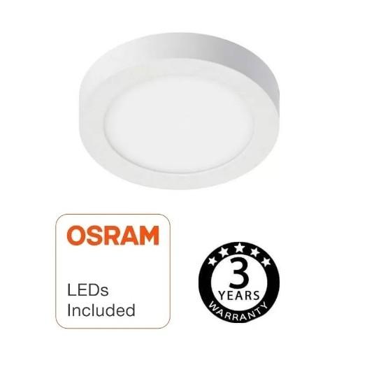 [Ibérica de Iluminación]Plafón LED circular superficie 15W - OSRAM CHIP DURIS E 2835