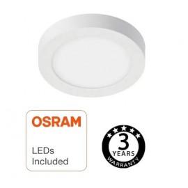 [Ibérica de Iluminación]Plafón LED Superficie Circular 8W - OSRAM CHIP DURIS E 2835
