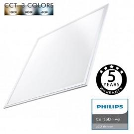 [Ibérica de Iluminación]Panel LED 60x60 44W Philips Certa Driver - CCT