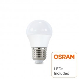 [Ibérica de Iluminación]Bombilla LED 6W E27 G45 220º - OSRAM CHIP DURIS E 2835