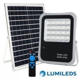 [Ibérica de Iluminación]Foco Proyector Exterior SOLAR LED 200W AVANT