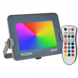 [Ibérica de Iluminación]Foco Proyector RGB+W LED 30W AVANCE OSRAM Chip