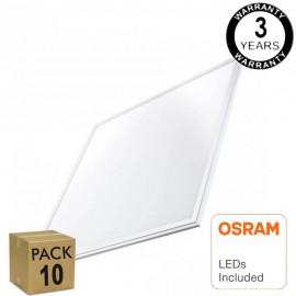 [Ibérica de Iluminación]PACK 10 Panel LED 60x60 48W - OSRAM CHIP DURIS E 2835