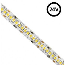[Ibérica de Iluminación]Tira LED 24V | 240xLED/m | 5m | SMD2835 |3800Lm | 24W/M | CRI90 | IP20 | HIGH LUMENS