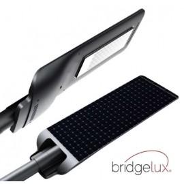 [Ibérica de Iluminación]Farola LED 100W Solar PROFESIONAL - ULTRA SLIM - con Sensor de Movimiento 150lm/W