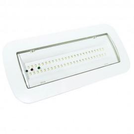 [Ibérica de Iluminación]Luz Emergencia LED 4W + Kit Techo + Opción Luz Permanente - IP65